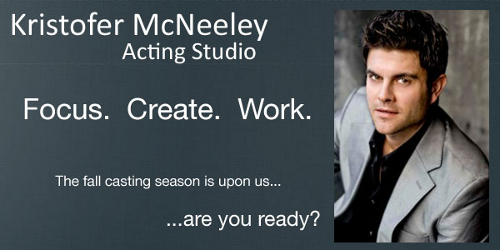 Kristofer McNeeley Acting Studio
