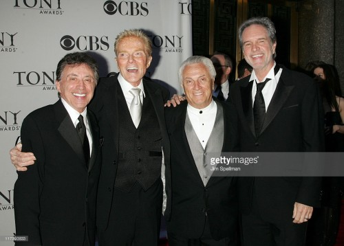 Frankie Valli, Bob Crewe, Tommy DeVito, and Bob Gaudio (Photo Credit: Jim Spellman, Getty Images)